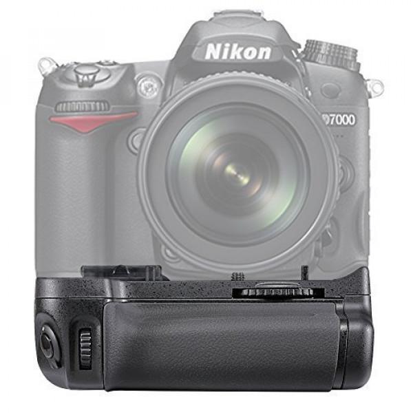 Neewer® Batteriegriff Akkugriff Baterry grip für Nikon D7000 Digitalkamera wie der Original Nikon MB-D11-34