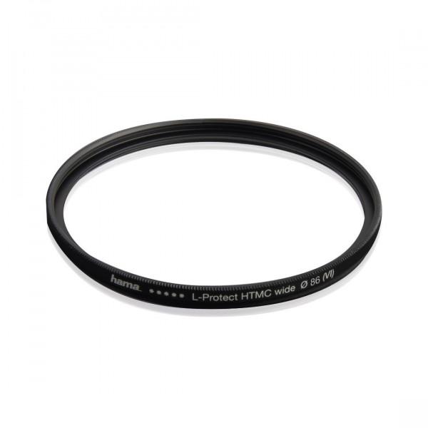 Hama UV Filter HD 86 mm Slim (Objektivschutz, 3 mm flache Metallfassung mit Frontgewinde, mehrfach vergütet HTMC, inkl. Filterbox)-316