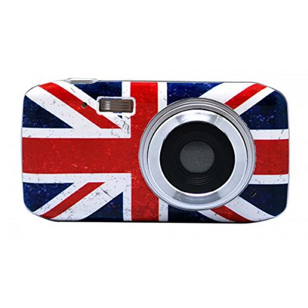 Madcow Entertainment Dünne UK Grunge Digitalkamera (8 Megapixel)-32