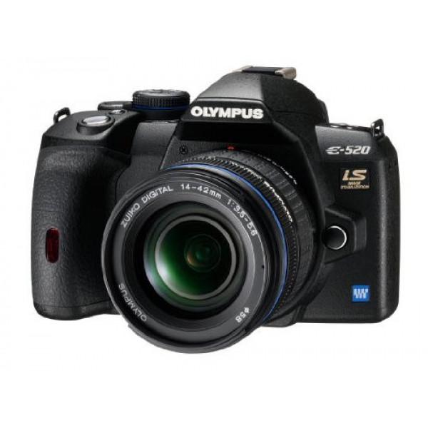 Olympus E-520 SLR-Digitalkamera (10 Megapixel, LifeView, Bildstabilisator) Gehäuse-36