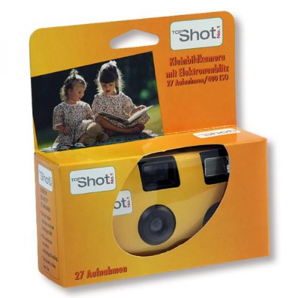10x Hochzeitskamera Einwegkamera Top Shot No. 1 gelb-33