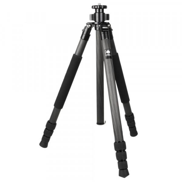 SIRUI R-2204 Reporter Studio-Dreibeinstativ (Carbon, Höhe: 163cm, Gewicht: 1,32kg, Belastbarkeit: 15kg) mit Tasche und Gurt-35