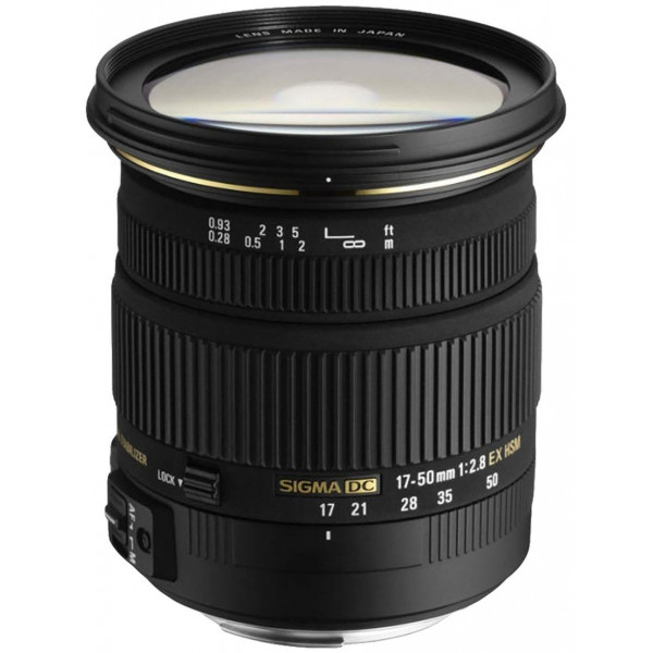 Sigma 17-50 mm F2,8 EX DC OS HSM-Objektiv (77 mm Filtergewinde) für Nikon Objektivbajonett-34