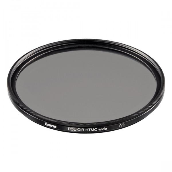 Hama Polarisations-Filter, Weitwinkel, 8-fach Vergütung, Für 72 mm Foto-Kameraobjektive, HTMC-31