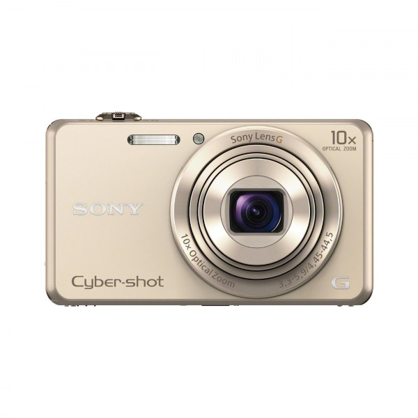 Sony DSC-WX220 Digitalkamera (18 Megapixel, 10-fach opt. Zoom, 6,8 cm (2,7 Zoll) LCD-Display, NFC, WiFi) gold-311