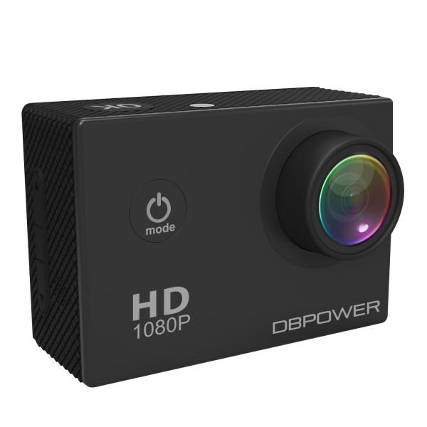 DBPOWER HD 1080P Action Kamera wasserdicht mit 2 verbesserten Batterien und Kostenlosen Zubehor Kits (Schwarz)-36