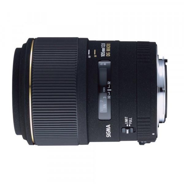 Sigma 105mm F2,8 EX DG Makro Objektiv (58mm Filtergewinde) für Canon-31