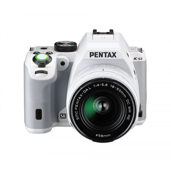 Pentax K-S2 Spiegelreflexkamera (20 Megapixel, 7,6 cm (3 Zoll) LCD-Display, Full-HD-Video, Wi-Fi, NFC, HDMI, USB 2.0) Double-Zoom-Kit inkl. 18-50mm und 50-200mm WR-Objektiv weiß-312