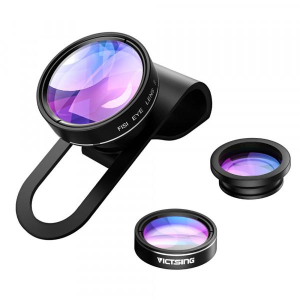 VicTsing 3 in 1 Clip On Fisheye Fischauge Objektiv Kamera Adapter (180 Grad Fisheye Objektiv, 0.65X Weitwinkelobjektiv, 10X Makroobjektiv)-37