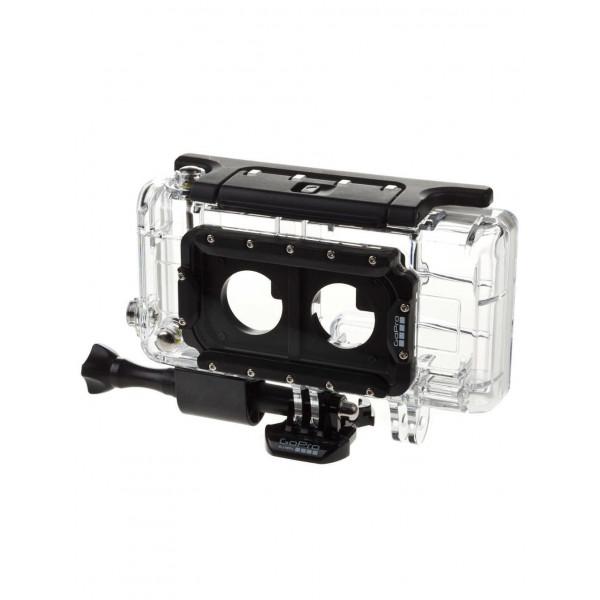 GoPro Gehäuse Dual HERO System (Standard, Skeleton-Hintertüren, 2 x gebogene + 2 x gerade Klebehalterungen, 3D Anaglyph-Brillen, USB-Kabel)-33