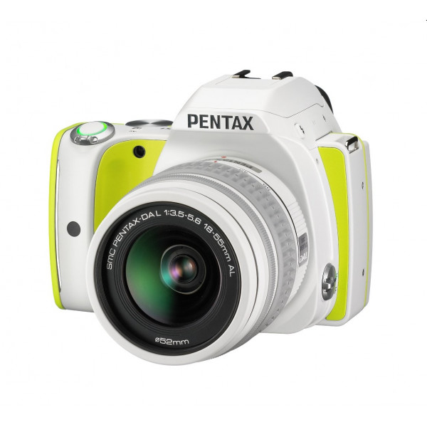 Pentax K-S1 SLR-Digitalkamera (20 Megapixel, 7,6 cm (3 Zoll) TFT Farb-LCD-Display, ultrakompaktes Gehäuse, Anti-Moiré-Funktion, Full-HD-Video, Wi-Fi, HDMI) Kit inkl. DAL 18-55 Objektiv lime pie-39