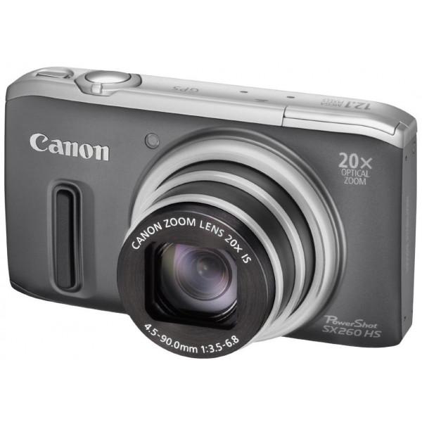 Canon PowerShot SX 260 HS Digitalkamera (GPS, 12,1 Megapixel, 20-fach opt. Zoom, 7,6 cm (3 Zoll) Display, bildstabilisiert) grau-34