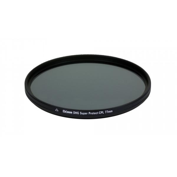 Dörr DHG Super Zirkular Polfilter 77 mm mit Nano-Vergütung/beidseitige DHG 12-fach Mehrschichtvergütung/extrem flache Filterfassung-35