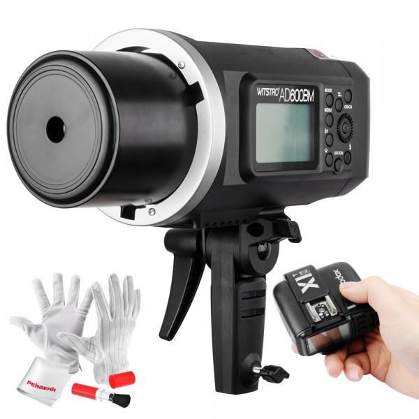 Godox AD600BM Bowens Mount 600Ws GN87 High Speed Sync Draussen Blitzgeräte mit X1N Kabellos Flash Trigger 8700mAh Batterie 500 Volle Leistung Blinkt Recyceln in 0.01-2.5 Zweite for Nikon-39