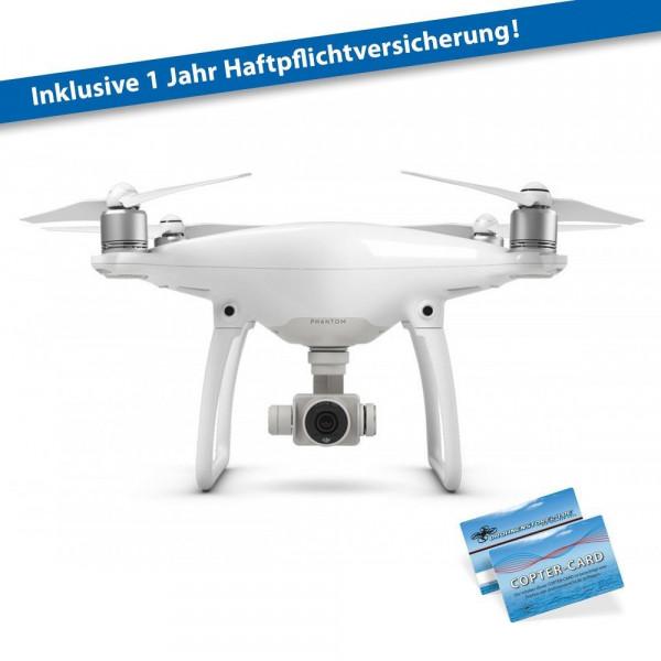 DJI Phantom 4 Basic inkl. Haftpflicht Quadrocopter 4K Kamera Anti-Kollisions-System y-38