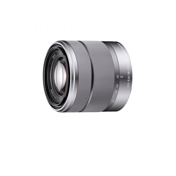 Sony SEL1855, Standard-Zoom-Objektiv (18-55 mm, F3.5-5.6 OSS, E-Mount APS-C, geeignet für A5000/ A5100/ A6000 Serien and Nex) silber-32
