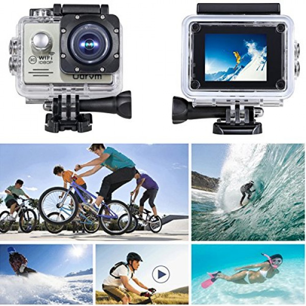 wifi hd action kamera wasserdicht 2 0 zoll helmet camera. Black Bedroom Furniture Sets. Home Design Ideas