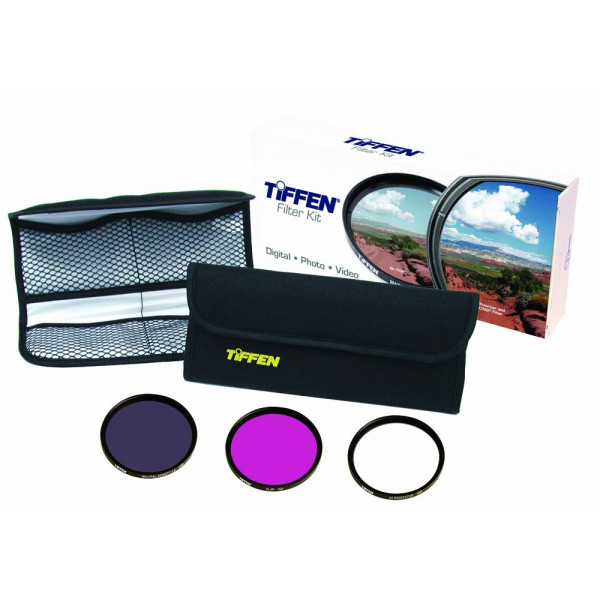 Tiffen Filter 43MM DELUXE 3 FILTER KIT-31