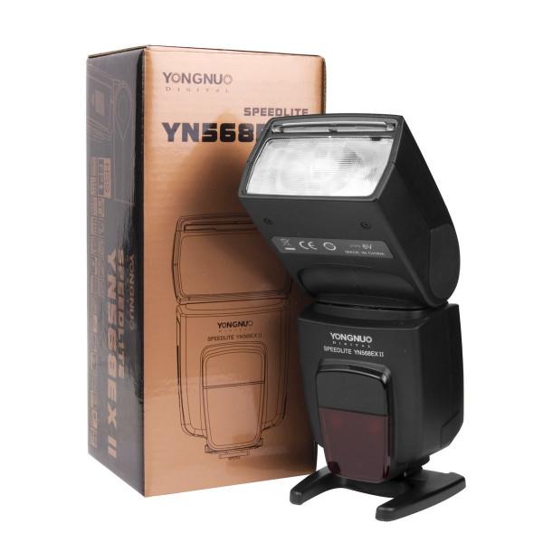 Yongnuo YN-568EX II Blitzgerät für Canon EOS Kamera mit Masterblitzfunktion-31