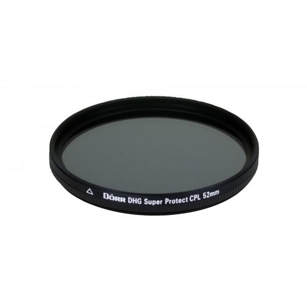 Dörr DHG Super Zirkular Polfilter 52 mm mit Nano-Vergütung/beidseitige DHG 12-fach Mehrschichtvergütung/extrem flache Filterfassung-35
