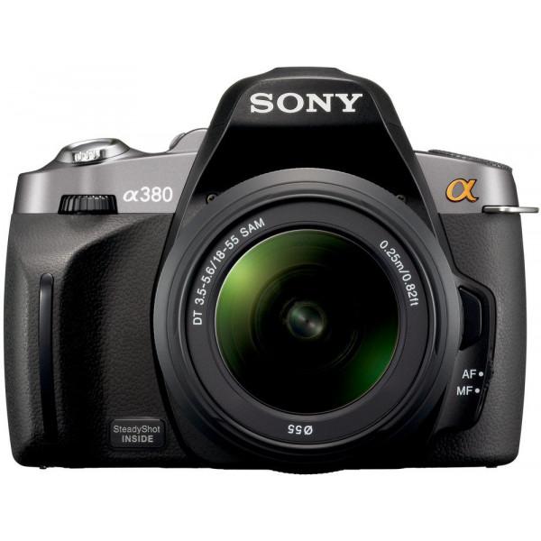 Sony DSLR-A380L SLR-Digitalkamera (14 Megapixel, LiveView, Bildstabilisator) inkl. 18-55 mm Objektiv-36