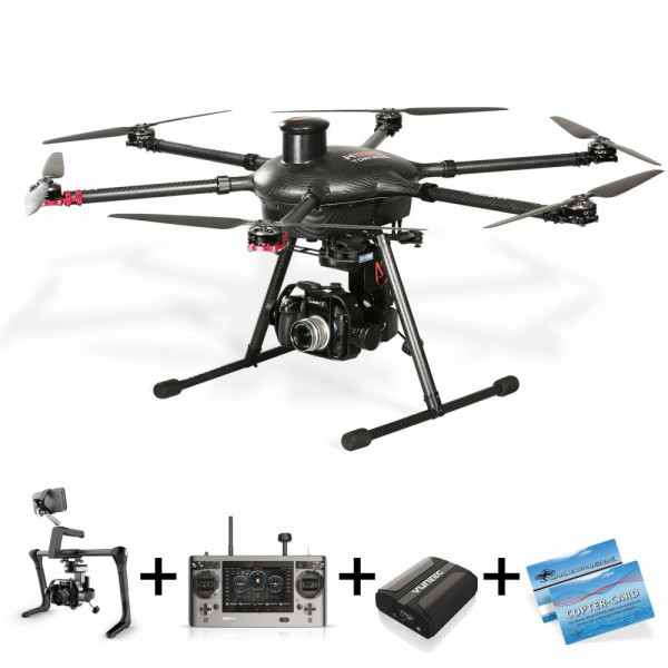 Yuneec Tornado H920 Drohne GH4 Gimbal Set-310