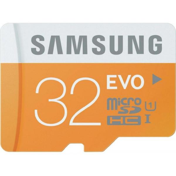 Samsung Speicherkarte MicroSDHC 32GB GB EVO UHS-I Grade 1 Class 10 für Smartphones und Tablets, mit SD Adapter, frustfrei-33