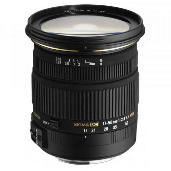 Sigma 17-50 mm F2,8 EX DC HSM-Objektiv (77 mm Filtergewinde) für Sony Objektivbajonett-32
