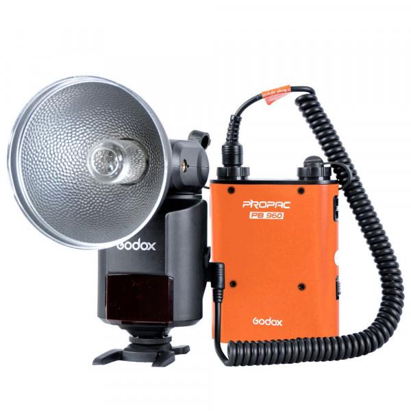 Andoer Godox Witstro AD360II-C TTL 360W GN80 externen leistungsstarke Portable Speedlite Blitz Licht Kit mit 4500mAh PB960 Lithium-Akku für Canon EOS Kameras-39