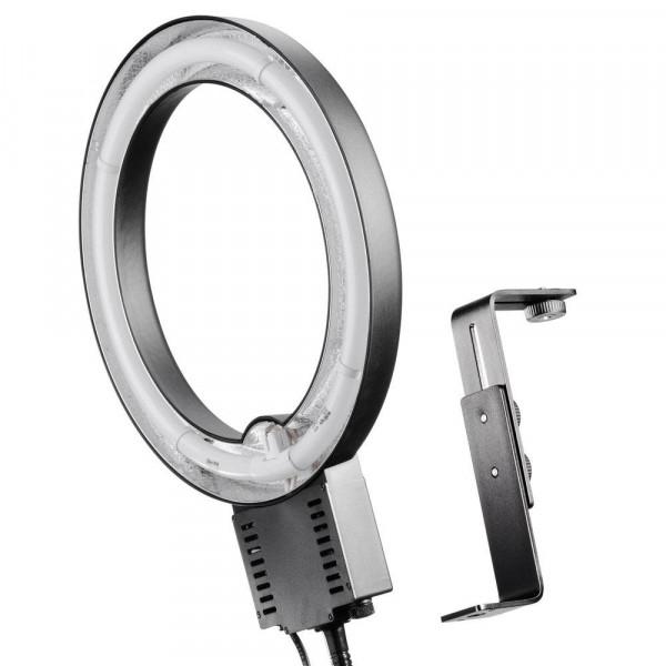 Walimex Ringleuchte (40 W) und Kamerahalterung-36