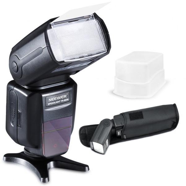 Neewer® NW-985N E-TTL 4 Farben TFT-Display * High Speed Synchronisation I-TTL Kamerablitz Blitzgerät für Nikon D7000 D5300 D5200 D5100 D5000 D3300 D3200 D3100 D800 D40, D40X, D50, D60, D70, D70S, D80, D80S, D90, D200, D300 und alle übrigen Nikon Spiegelre-39