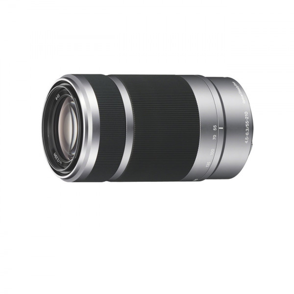Sony SEL55210, Tele-Zoom-Objektiv (55-210 mm, F4,5-6,3 OSS, E-Mount APS-C, geeignet für A5000/ A5100/ A6000 Serienand Nex) schwarz und silber-34