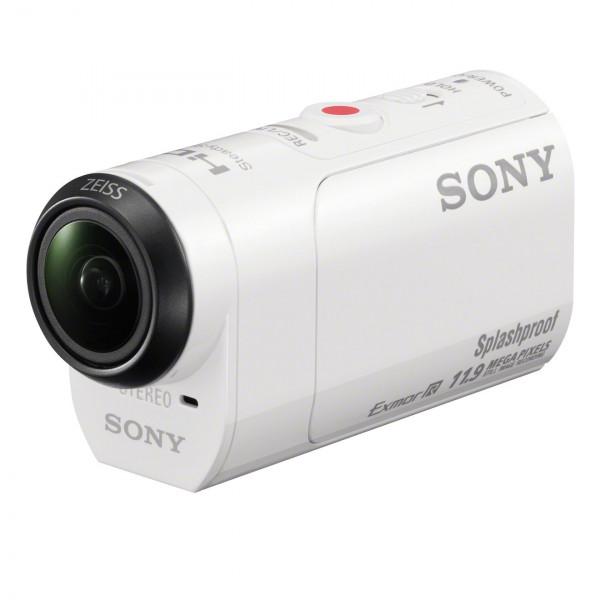 Sony HDR-AZ1 Bike Mini-Format Action Kamera Kit mit Profi-Feature (spritzwassergeschützte mit Exmor R CMOS Sensor, lichtstarkem Carl Zeiss Tessar Optik, Bildstabilisator, WiFi, NFC Funktion) weiß-321
