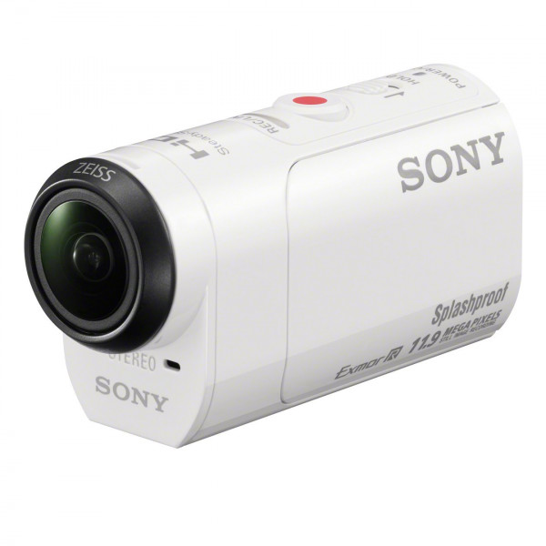 Sony HDR-AZ1 Live View Remote Mini-Format Action Kamera Kit mit Profi-Feature (Spritzwassergeschützte mit Exmor R CMOS Sensor, lichtstarkem Carl Zeiss Tessar Optik, Bildstabilisator) weiß-322