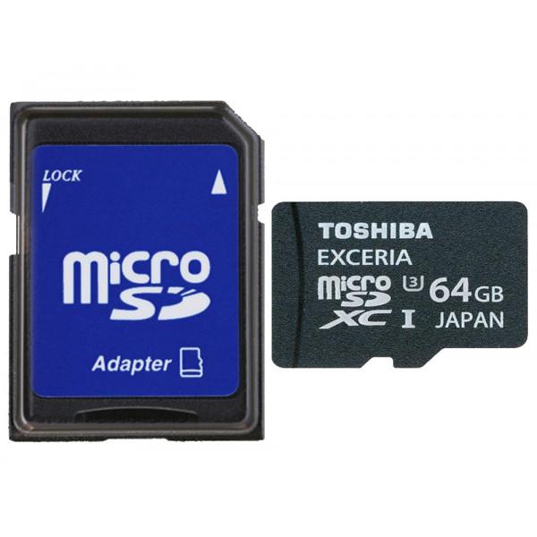 Toshiba Exceria Micro SDHC 64GB Class 10 (bis zu 95MB/s lesen) Speicherkarte schwarz-33