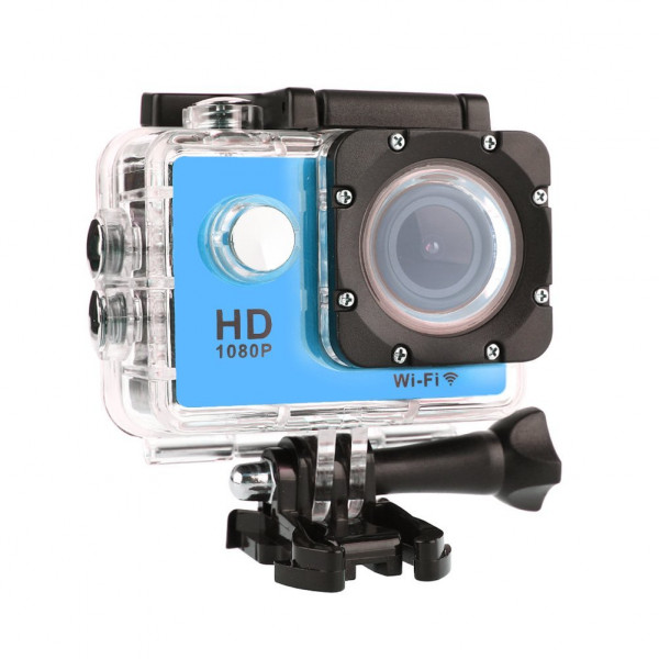 2016 Neue W9C SJ7000 Premium WiFi Mini Action Camera 1080P FHD 2.0 LCD Sport DV Pro Camcorder Marine Diving Kamera Action Kamera 2016 Update Version (Blau)-38
