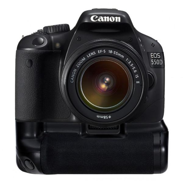 Rebel T2i T3i T4i T5i SLR Digital Kameras wie der Canon BG-E8 Neewer Pro Batteriegriff Akkugriff Battery Grip f/ür Canon EOS 550D 600D 650D 700D kompatibel mit 6 AA-Batterien oder 2 LP-E8 Li-Ionen-Batterien