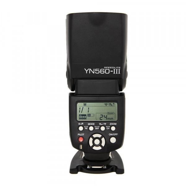 Yongnuo YN560 Mark III YN560-III YN560III Blitzgerät für Canon, Nikon, Pentax, Olympus mit TARION klappbares Softbox und deutscher Gebrauchsanleitung-37