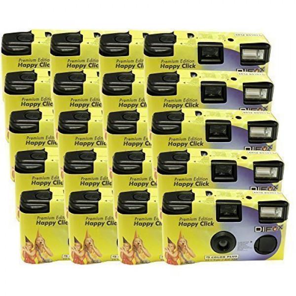 20x PHOTO PORST Einwegkamera / Hochzeitskamera / Partykamera HC gelb (27 Fotos, Blitz, 20-er Pack)-37