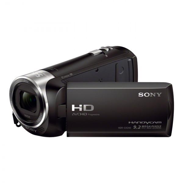 HDR-CX240 Camcorder Black FHD MicroSD-311