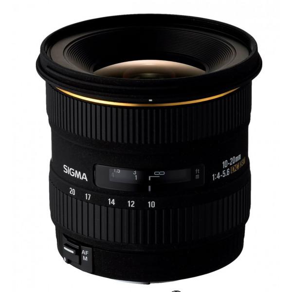 Sigma 10-20 mm F4,0-5,6 EX DC HSM-Objektiv (77 mm Filtergewinde) für Canon Objektivbajonett-39