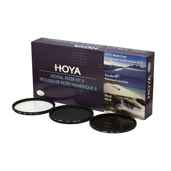 Hoya YKITDG072 Digital Filter Kit (72mm) inkl Cirkular Polfilter/ND-Filter (NDx8)/HMC-C, UV-Filter-34