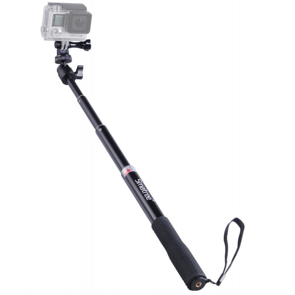 """Smatree SmaPole Q1 Erweiterbar Selfie Stick / Einbeinstativ mit Stativ + Schraube für GoPro Hero, Hero 4/3+/3/2/1 hd und Kompaktkameras mit 1/4"""" Gewindebohrung-36"""