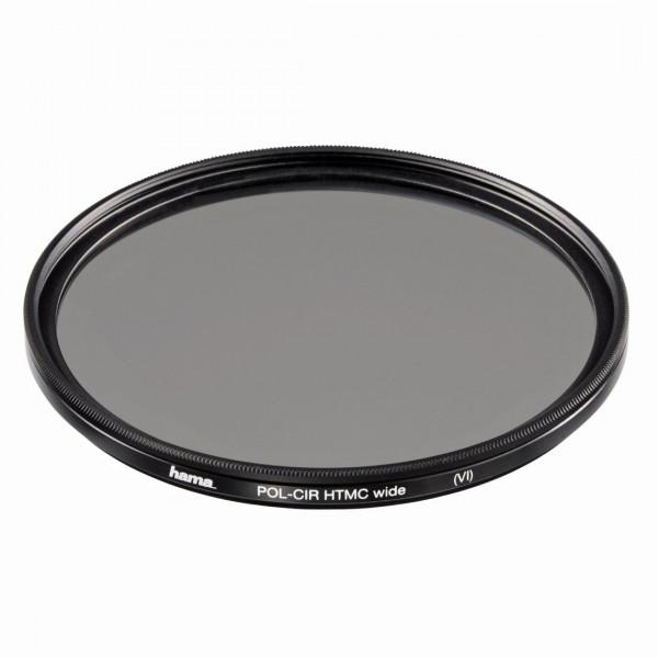 Hama Polarisations-Filter, Weitwinkel, 8-fach Vergütung, Für 62 mm Foto-Kameraobjektive, HTMC-31