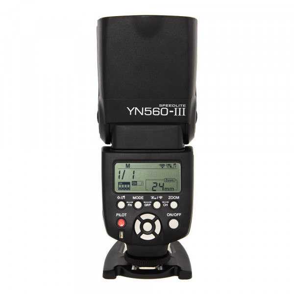 Yongnuo OS02037 YN-560 Mark III Systemblitz mit integriertem Funkauslöser-31