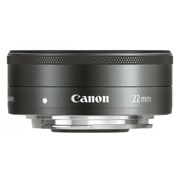 Canon EF-M 22mm 1:2 STM Pancake-Objektiv (43mm Filtergewinde) schwarz-35