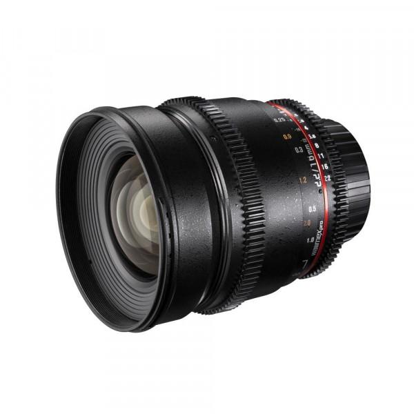 Walimex Pro 16mm 1:2,2 VDSLR Video und Foto Weitwinkelobjektiv (Filtergewinde 77mm, Gegenlichtblende, Zahnkranz, stufenlose Blende und Fokus) für Olympus Four Thirds Objektivbajonett schwarz-34