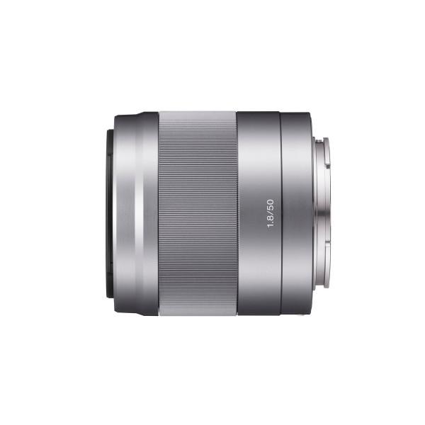 Sony SEL50F18, Porträt-Objektiv (50 mm, F1,8 OSS, E-Mount APS-C, geeignet für A5000/ A5100/ A6000 Serienand Nex) silber-34