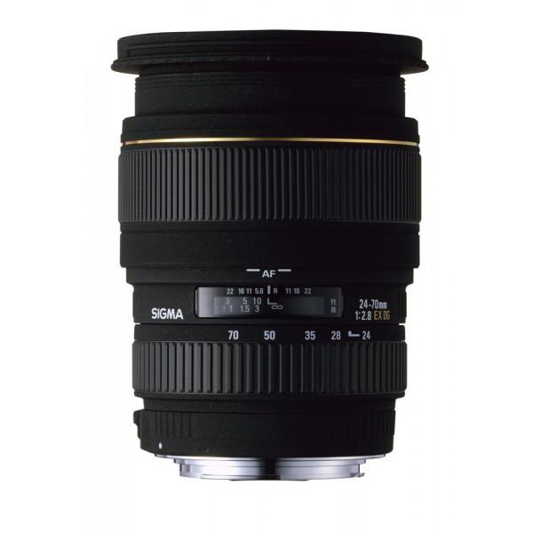 Sigma 24-70mm F2,8 EX DG Makro Objektiv (82mm Filtergewinde) für Canon-31