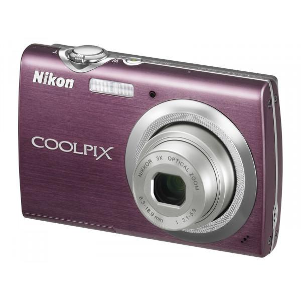 Nikon Coolpix S230 Digitalkamera (10 Megapixel, 3-fach optischer Zoom, 7,6 cm (3 Zoll) Display) lila-35